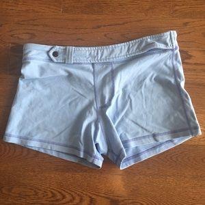 Blue Lululemon Size 8 Shorts